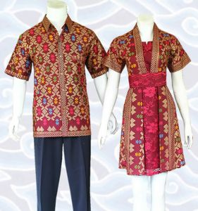 dress batik sarimbit couple