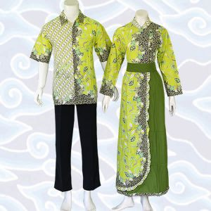 gamis batik sarimbit couple musliam
